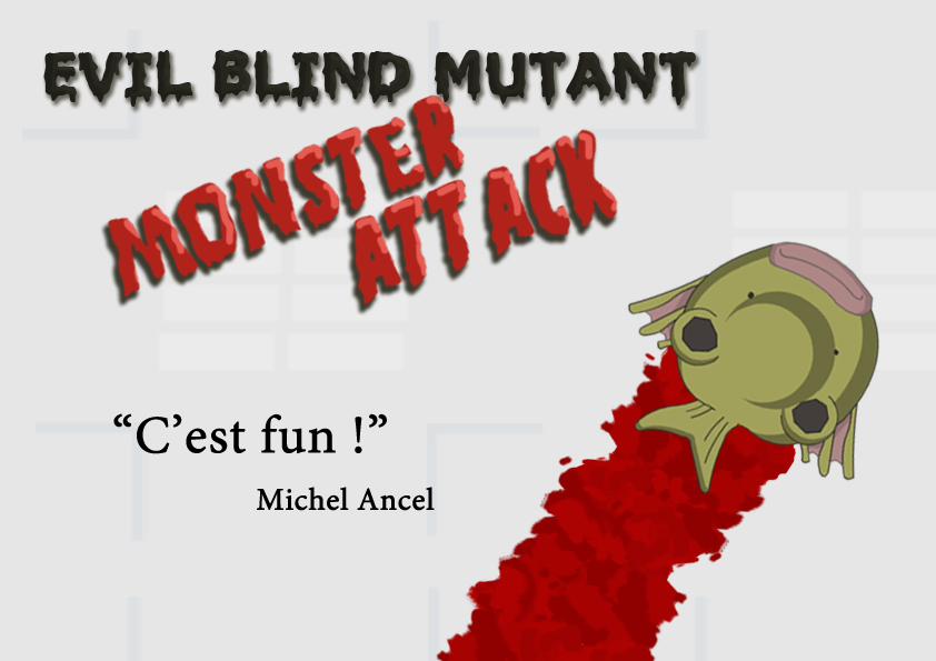 Evil Blind Mutant Monster Attack
